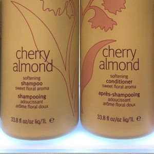 NEW Aveda Cherry Almond Shampoo and Conditioner